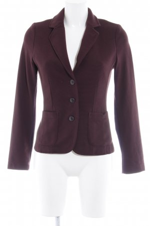Opus Kurz-Blazer braunviolett Business-Look