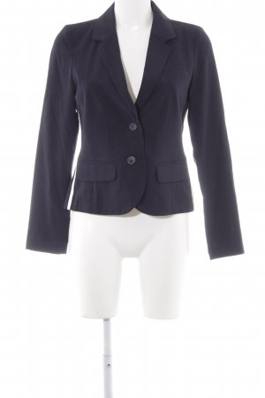 Opus Kurz-Blazer dunkelblau Business-Look