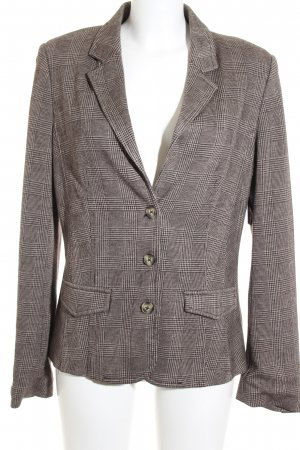 Opus Kurz-Blazer Karomuster Business-Look