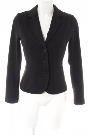 Opus Kurz-Blazer schwarz Business-Look