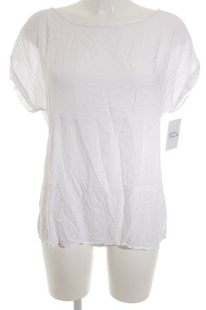 Opus Camicetta a maniche corte bianco sporco stile casual