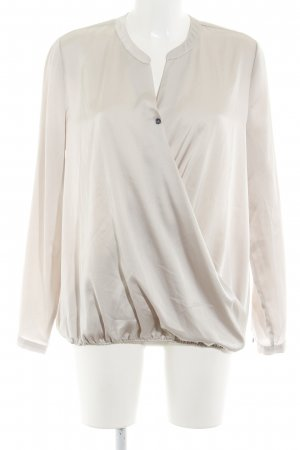 Opus Langarm-Bluse beige Casual-Look
