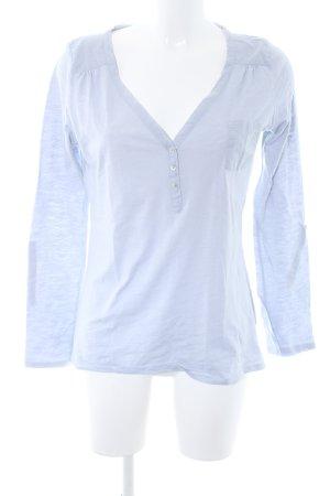 Opus Langarm-Bluse graublau Street-Fashion-Look