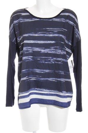 Opus Langarm-Bluse mehrfarbig schlichter Stil