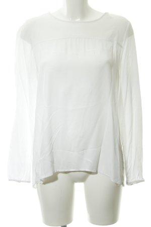 Opus Camicetta a maniche lunghe bianco stile casual