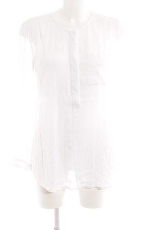 Opus Langarm-Bluse weiß klassischer Stil