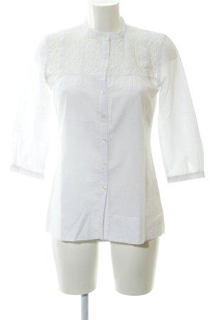 Opus Camicetta a maniche lunghe bianco stile semplice