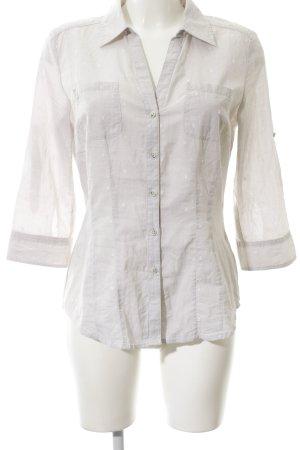 Opus Camisa de manga larga gris claro look casual