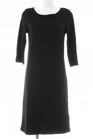 Opus Langarmkleid schwarz Elegant
