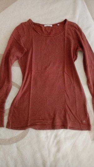 Opus Camisa de rayas multicolor Algodón