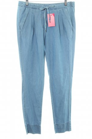 Opus Linen Pants light blue jeans look