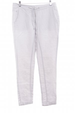 Opus Linen Pants light grey casual look