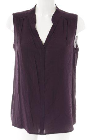 Opus Long-Bluse dunkelviolett Elegant