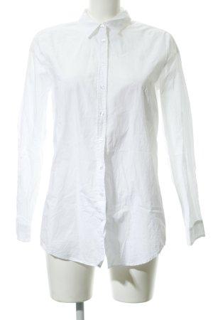 Opus Camicetta lunga bianco puntinato stile casual