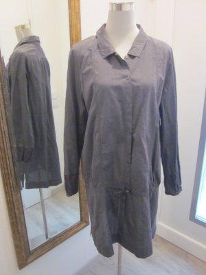 Opus Longbluse Kleid Tunika  Grau Gr 44