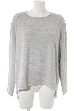 Opus Manica lunga grigio chiaro puntinato stile casual
