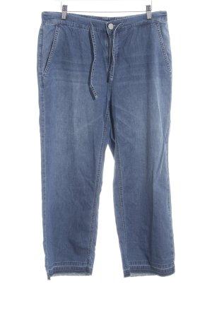 Opus Marlene Trousers steel blue '90s style