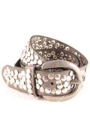 Opus Cintura borchiata grigio-argento stile casual