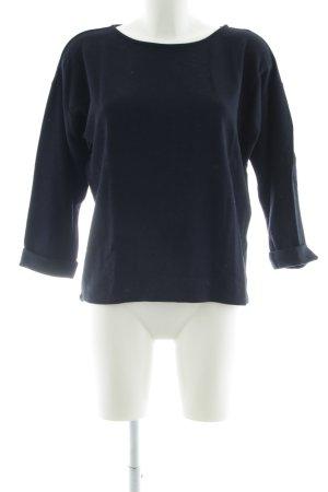 Opus Oversized Pullover blau Casual-Look