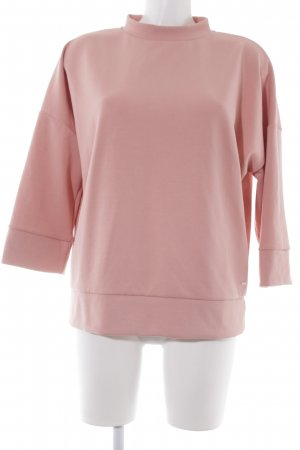 Opus Oversized Sweater dusky pink casual look
