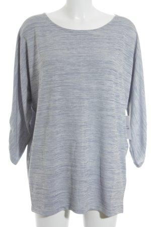 Opus Oversized Pullover blau-graublau meliert Casual-Look