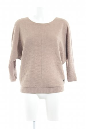 Opus Oversized Pullover camel Casual-Look