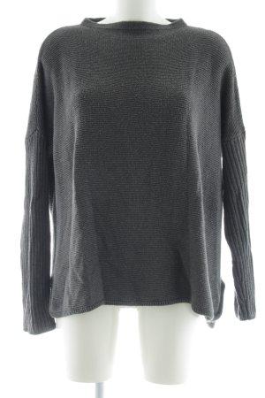 Opus Oversized Pullover hellgrau Casual-Look