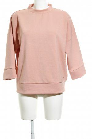 Opus Maglione oversize rosa pallido stile minimalista