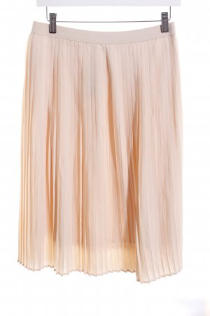 Opus Pleated Skirt cream casual look