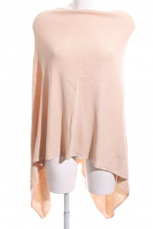 Opus Poncho creme Allover-Druck Casual-Look