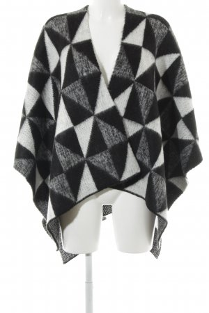 Opus Poncho check pattern layered look