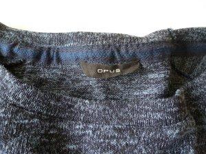 Opus Pullover 38 blau meliert
