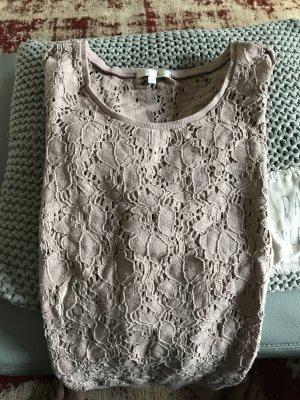 Opus Crewneck Sweater rose-gold-coloured