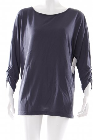 Opus Pullover graublau schlichter Stil