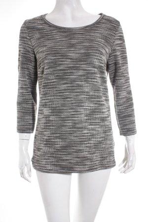 Opus Pullover schwarz-weiß Casual-Look