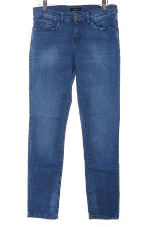 Opus Pantalone a sigaretta blu stile casual