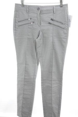 Opus Pantalón de tubo gris claro look Street-Style