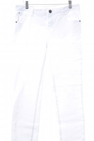 Opus Jeans a sigaretta bianco stile casual