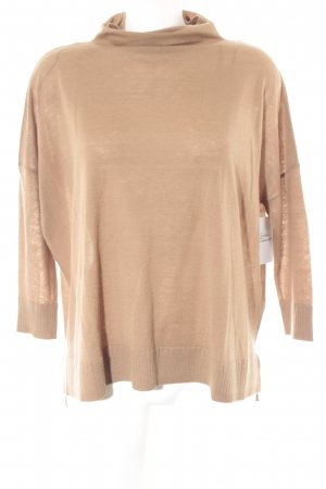 Opus Turtleneck Sweater camel casual look