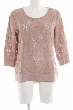 Opus Rundhalspullover pink Elegant