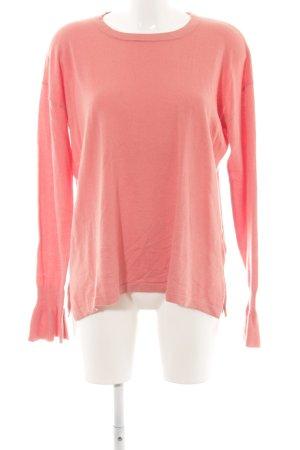 Opus Rundhalspullover pink Casual-Look