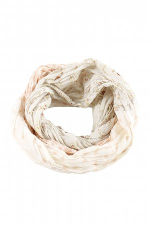 Opus Snood natural white-khaki flower pattern casual look