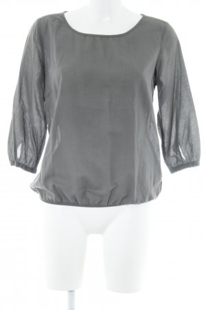 Opus Schlupf-Bluse anthrazit Casual-Look