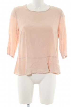 Opus Slip-over blouse nude casual uitstraling