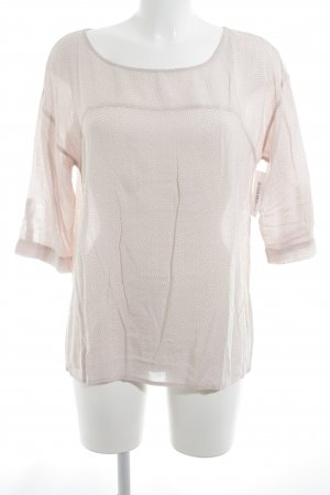 Opus Slip-over Blouse natural white-pink allover print casual look