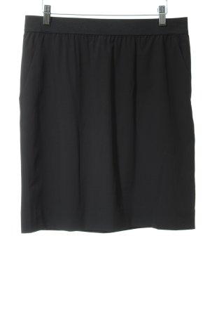 Opus Seidenrock schwarz Elegant