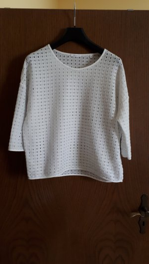 Opus Camisa de malla blanco