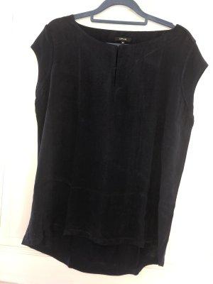 Opus Shirt Bluse dunkelblau Gr. 38