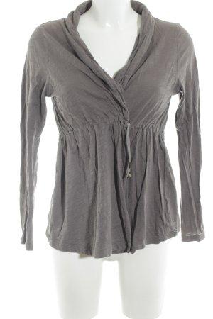 Opus Shirt Jacket grey brown casual look