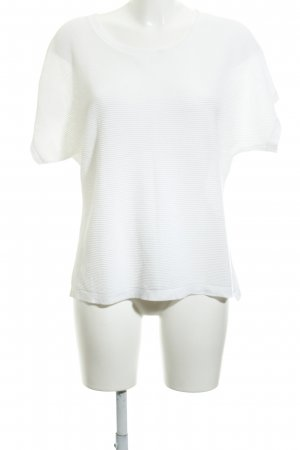 Opus Shirt Tunic white striped pattern casual look
